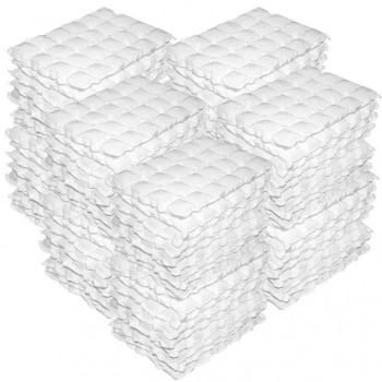 100 Techni Ice STD 2 PLY Disposable/ Minimum Reuse Dry Ice packs - Plain White *Order Now for Dispatch Early December