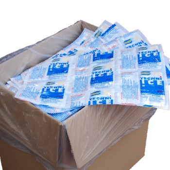 250 (1 Carton) Techni Ice Heavy Duty Reusable Dry Ice packs *NEW HIGH PERFORMANCE MODEL