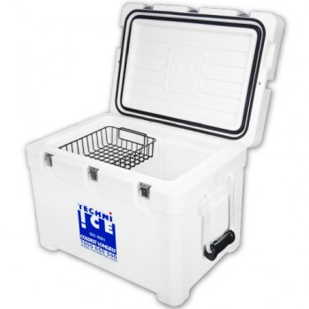 63Qt Techni Ice Signature Series Cooler- World's No.1 Ice Keeper + FREE* 24Qt Cooler Bag