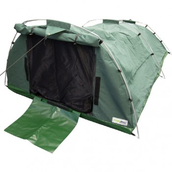 Heavy Duty 15oz(509gsm) Waterproof Ripstop Canvas Wilderness Sleeper Tent - Double