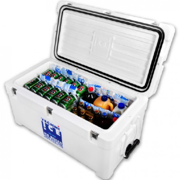 74Qt Techni Ice Signature Series Cooler- World's No.1 Ice Keeper  * End of May Dispatch