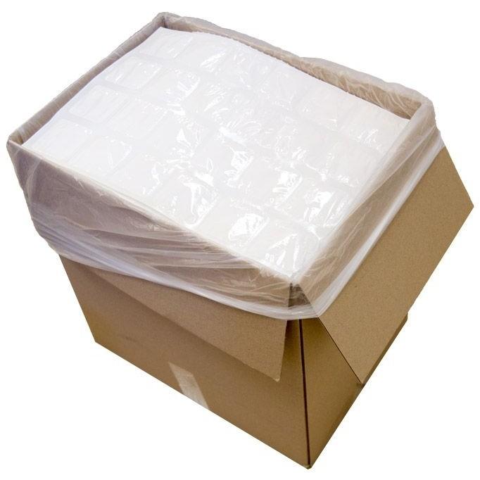 428 (1 Carton) Techni Ice STD 2 PLY Disposable/ Minimum Reuse Dry Ice packs -Plain White