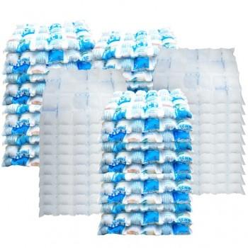 100 Techni Ice STD 2 PLY Disposable/ Minimum Reuse Dry Ice packs - Plain White
