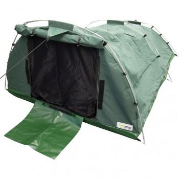 Heavy Duty 15oz(509gsm) Waterproof Ripstop Canvas Wilderness Sleeper Tent - Double