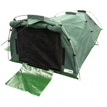 Heavy Duty 15oz(509gsm) Waterproof Ripstop Canvas Wilderness Sleeper Tent - XL / King Single